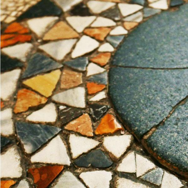 Dettaglio del mosaico di Otranto, Puglia
